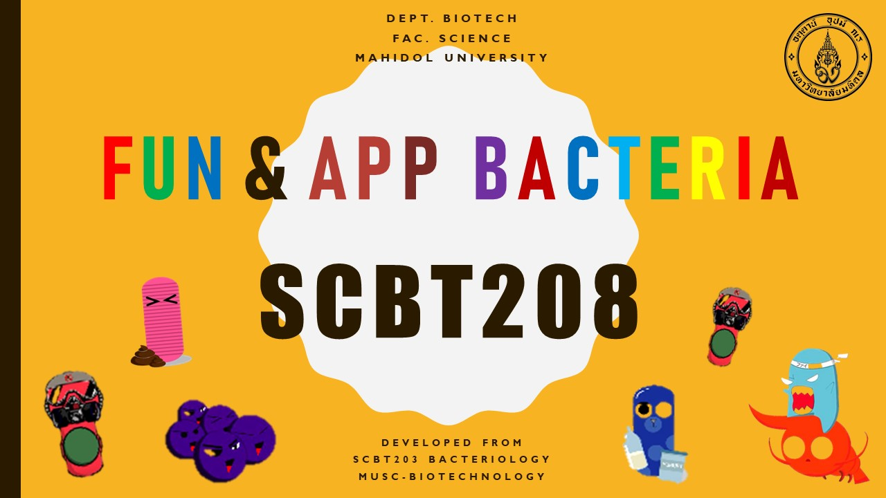 Fundamental and Applied Bacteriology SCBT208